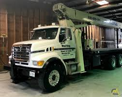 100 26 Truck National 9103A Ton Boom Crane On Sterling SOLD S