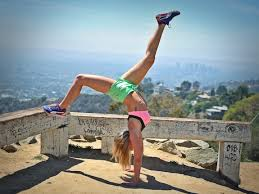 Traveling Handstands October 2014 by Why More Yogis Are Taking Up Running Well Good
