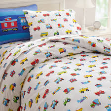 Trains Air Planes Fire Trucks Construction Boys Bedding Twin Full ...