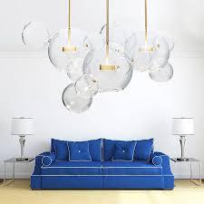 lass maus le moderne led anhänger licht klar glas mäuse suspension le für kinder zimmer wohnzimmer restaurant dekoration