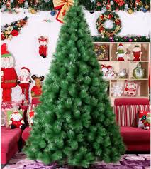 24m 240cm Luxury Encryption Christmas Tree PVC Pine Metal Frame Xmas New
