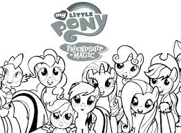 Realistic Little Pony Coloring Pages Q6420 Baby My Applejack Page Friendship Is