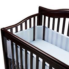 Amazon BreathableBaby Breathable Mesh Crib Liner Blue