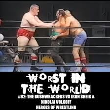 Halloween Havoc 1998 Hogan Vs Warrior by The Wrestling Section Worst In The World The Bushwhackers Vs