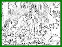 Coloring Pages Letter K Hard Amazing Bundle Of Majestic Unicorn Printable Pic