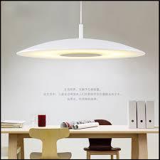 Led Dining Room Chandelier Round Simple Modern Living Bedroom Study Lamp Single Head Bar