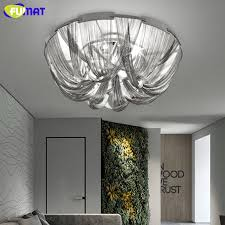 fumat modern kette quasten deckenleuchten italien designer deckenleuchten silber esszimmer livng aluminium deckenleuchte