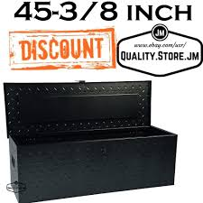 Truck Tool Box Black Diamond Plate Bed Boxes For Pickup Trucks ...