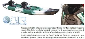 ce siege air point 65 n tequila angler modular kayak