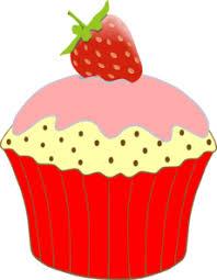 Strawberry Cupcake Clip Art