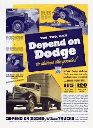 You, Too, Can, Depend On Dodge To Deliver The Goods ! Depend On ...