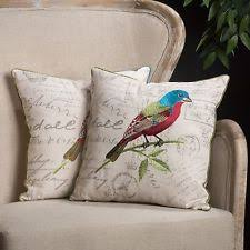 Pottery Barn Decorative Pillows Ebay by Embroidered Bird Pillow Ebay