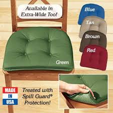 gripper chair pads home decor furniture cushions pillows
