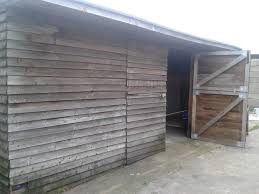 6x5 Shed Double Door by Large Garden Shed Aprox 20 Ft X 10 Ft Double Doors Side Door Exc