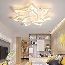 led deckenleuchte dimmbar mit fernbedienung farbwechsel schlafzimmer deckenle moderne deckenbeleuchtung wohnzimmerle kronleuchter