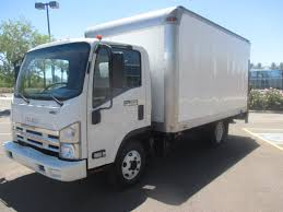 USED 2011 ISUZU NPR BOX VAN TRUCK FOR SALE IN AZ #2210