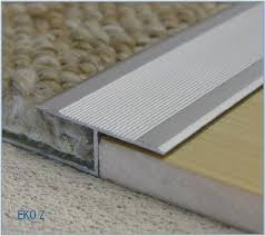 lovely ideas door floor plate carpet trim z bar laminate