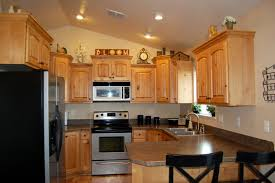 kitchen vaulted ceiling bungalow living room cathedral ceiling