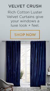 Dkny Modern Velvet Curtain Panels by Window Curtains U0026 Drapes West Elm