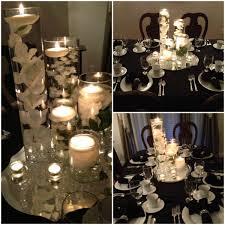 Decor For A Womens Christmas Dinner At My Church Column Vases