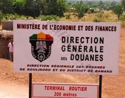 bureau de sortie douane maliweb direction régionale des douanes de koulikoro le