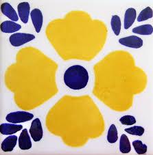 Mexican Tile Saltillo Tile Talavera Tile Mexican Tile Designs by Mexican Tile Lomeli 414 Amarillo Ceramic Mexican Tile