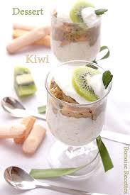 dessert aux kiwis facile dessert au kiwi très facile
