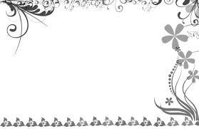 Fancy Wedding Borders Clipart