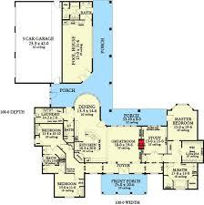 3 Bedroom Ranch Floor Plans Colors Best 25 Dream House Plans Ideas On Pinterest House Floor Plans