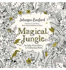 Magical Jungle An Inky Expedition Colouring Book Paperback
