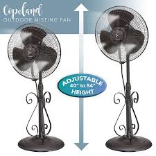 Cheap Patio Misting Fans by Amazon Com Outdoor Misting Fan 3 Speed All Weather Pedestal
