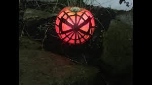 Spiderman Pumpkin Carving by Spiderman Pumpkin Easy Project Halloween Carving Youtube