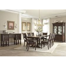 Captains Chairs Dining Room by Prescott Dining Trestle Table U0026 4 Side Chairs 799108 Dining