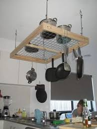 Pot Rack DIY Project