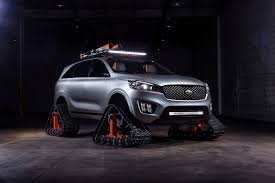 Kia Reveals Vehicle Concept With Tank-style Treads Instead Of Wheels ... Custom Rubber Tracks Right Track Systems Int Vehicles You Wont Believe Are Road Legal Tank Vs Ifv Apc A Military Ground Vehicle Idenfication Guide Dtv Shredder An Allterrain That Fits In Your Car Fifteen Cars Ditched Tires For Autotraderca N Go Bangshiftcom Restored Us Army Wwii M2 Half Is Cool Functional Darpa Wheels Change From Tires To Tracks Without Stopping 2018 Gmc Sierra Hd 2500 All Mountain Concept For American Truck Suv System