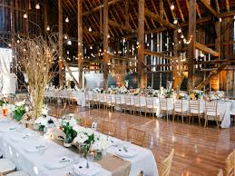 Stunning Interior For A Barnyard Wedding Truly Classic
