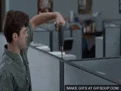 Office Space Cubicle Officespace GIF