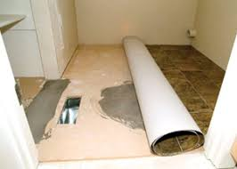 Tiling A Bathroom Floor Over Linoleum by Install Plywood Underlayment For Vinyl Flooring Extreme How To