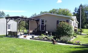 Patio Enclosures Rochester New York by We Built A Pergola My Mobile Home Makeover