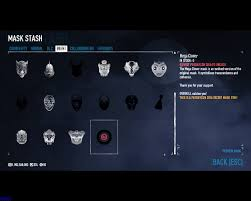 Payday 2 Halloween Masks Unlock by Leaked Paydaycon Mask Reward Paydaytheheist