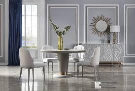 garnitur esszimmer sessel italienische luxus möbel stuhl set 2x stühle gruppe