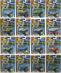 100 Hot Wheels Monster Jam Trucks List 164 Truck With ReCrushable Car 2018