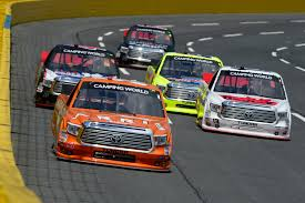 100 Truck Series NASCAR Camping World North Carolina Education Lottery
