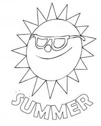 Coloring Page PDF 4 Summer