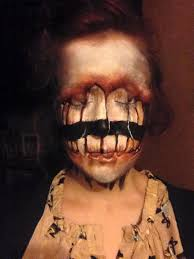 Scary Things To Do On Halloween by I Use Face Paint To Turn Myself Into Dark Or Strange Characters