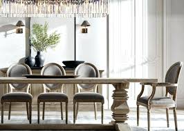 Restoration Hardware Dining Room Tables The Most Sophisticated Furniture By