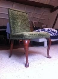 Dutch Elm Wood Louis XIV Dining Room Chairs