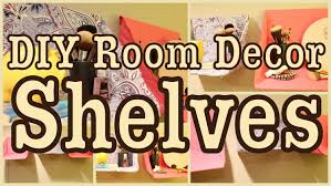 Indie Room Decor Ideas by Diy Room Decor Shelves Great For Any Room Youtube