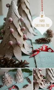DIY Paper Christmas Tree