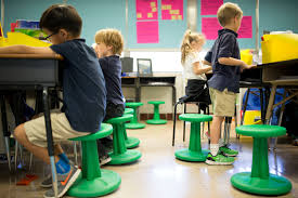 Ball Seats For Classrooms by Wobble Chairs Bouncy Balls Let Students Wiggle While They Work